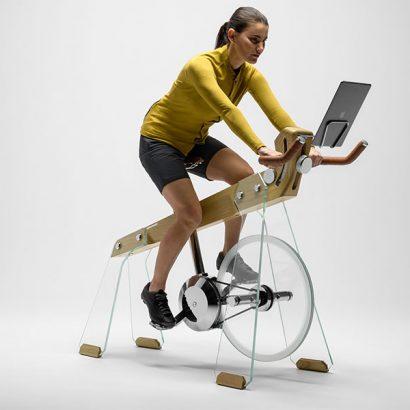 allenamento cyclette design