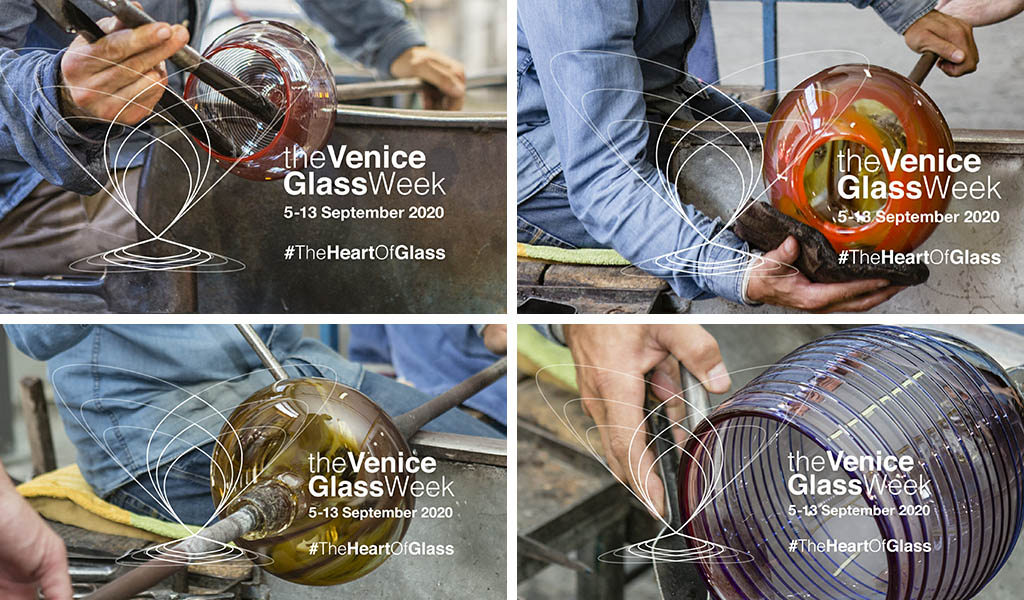 venice glass week visual
