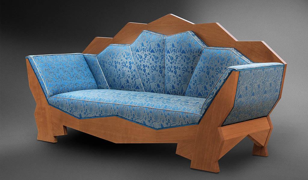 divano cubista