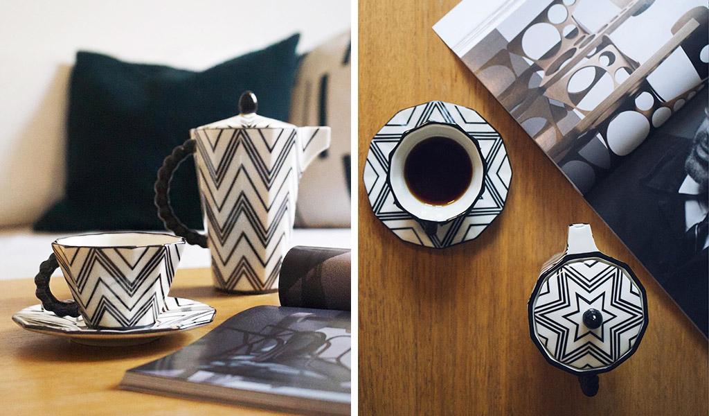 servizio caffè cubismo