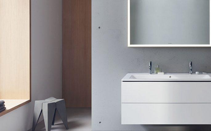 lavabo bagno bianco satinato