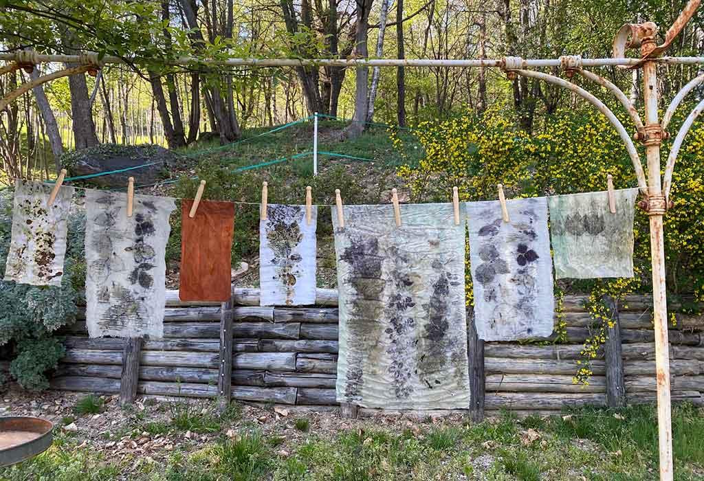 asciugatura tessuti naturali