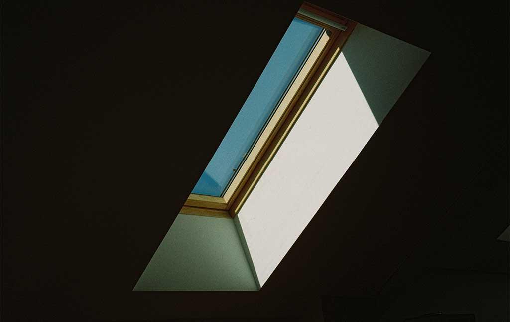 finestra velux tetto