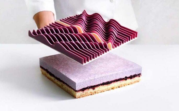 torta quadrata geometrica
