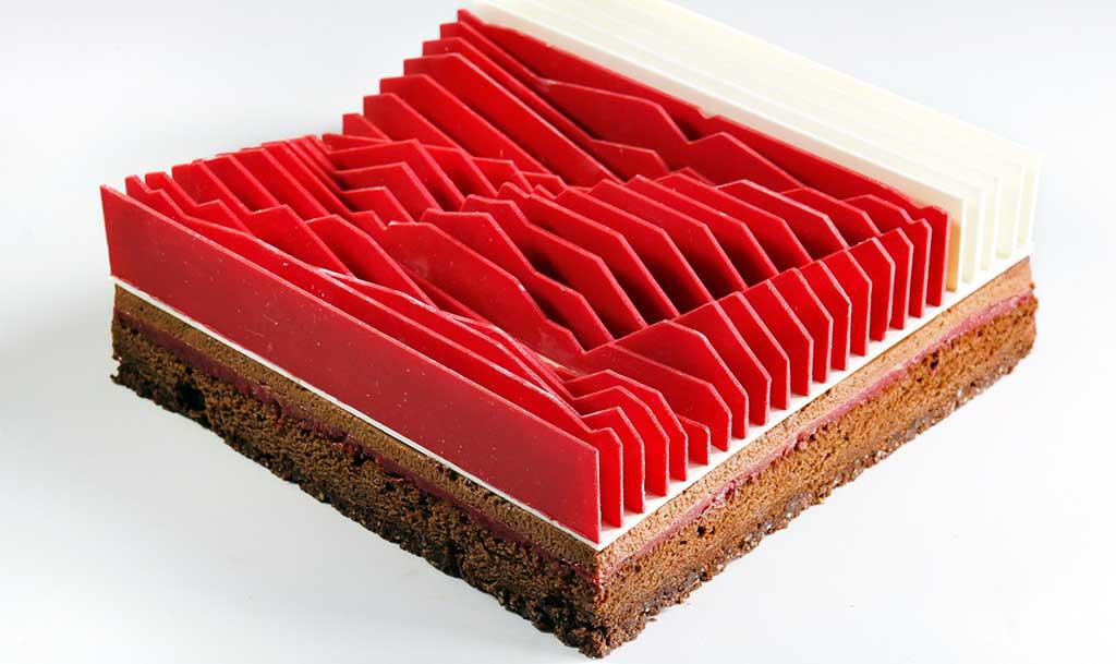torta geometrica cinetica