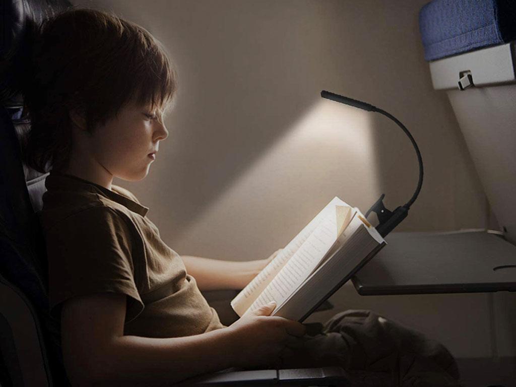 lampada lettura libro