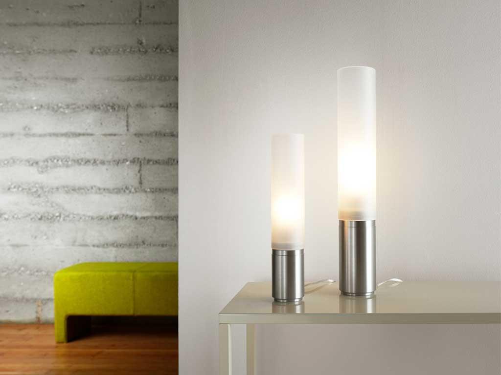 lampaa tavolo base metallo cilindro