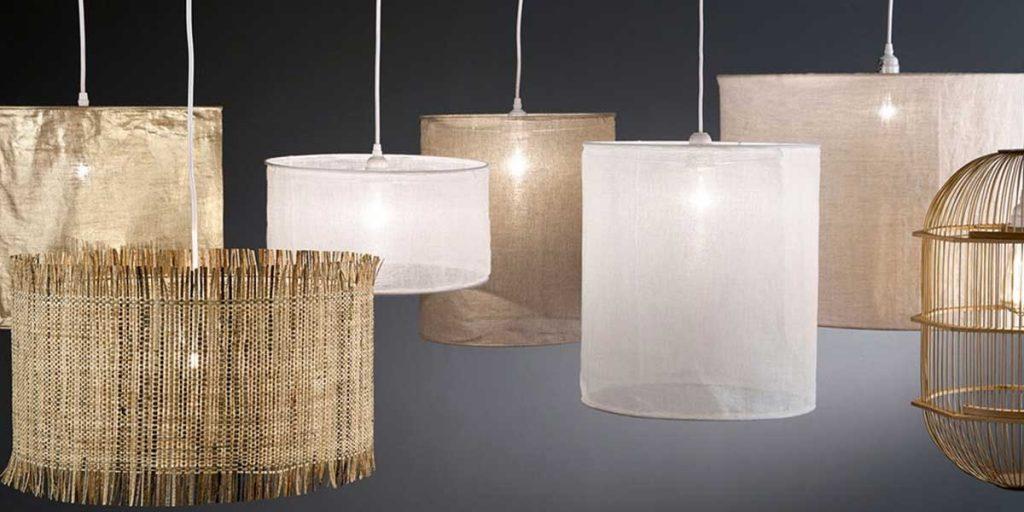 lampadari garza di lino