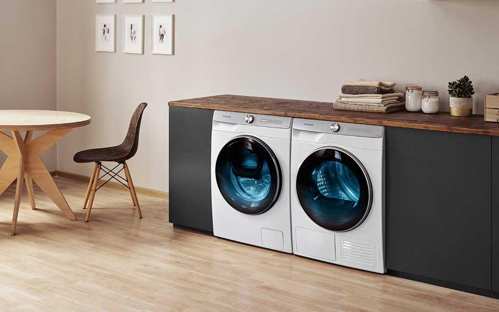 lavatrice e asciugatrice smart