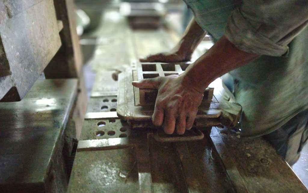 piastrella fatta a mano