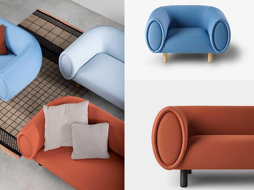 poltrona e divani imbottiti