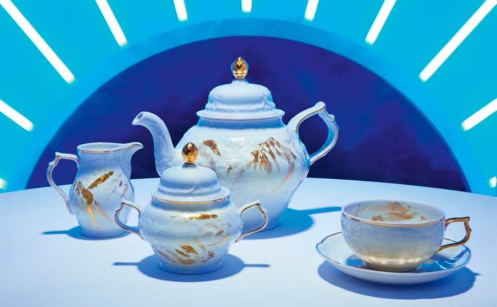 tazza teiera zuccheriera lattiera