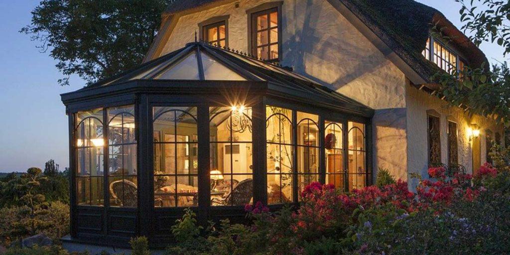 casa campagna veranda