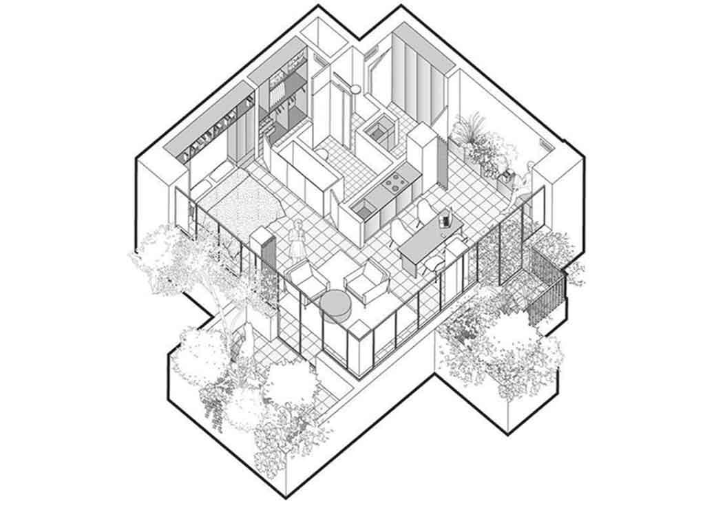 progetto loft boeri