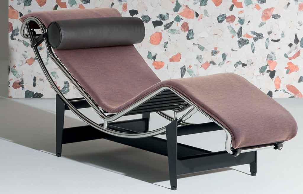 chaise longue tessuto