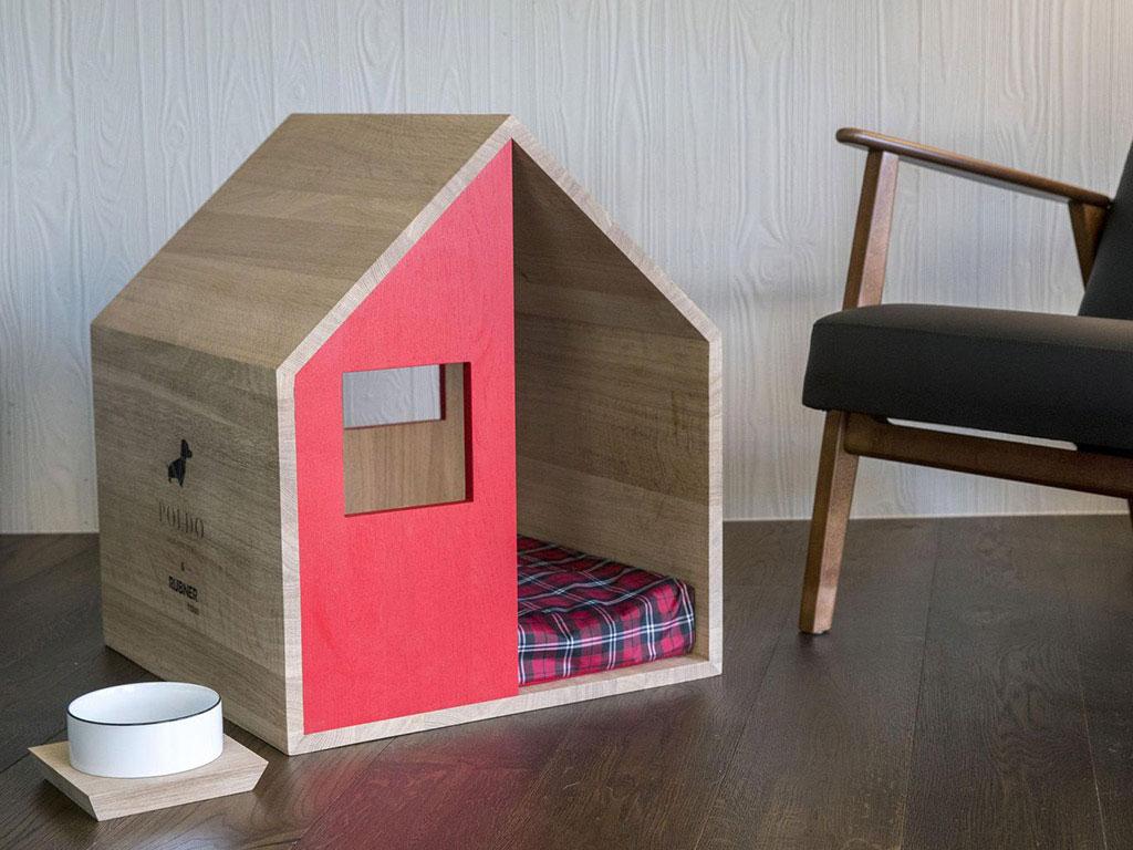 cuccia casetta in legno