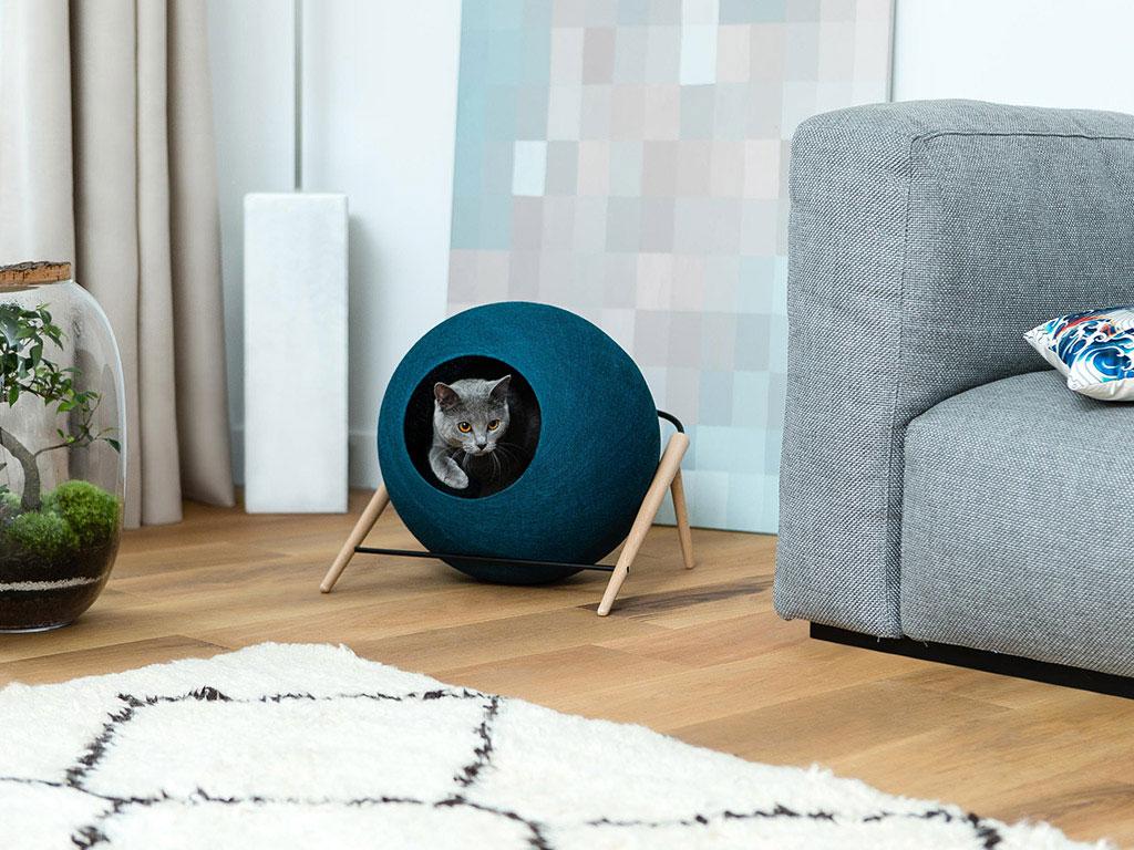 cuccia sfera gatto