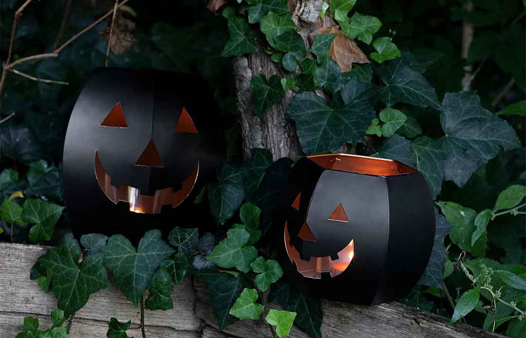 lanterne halloween nere