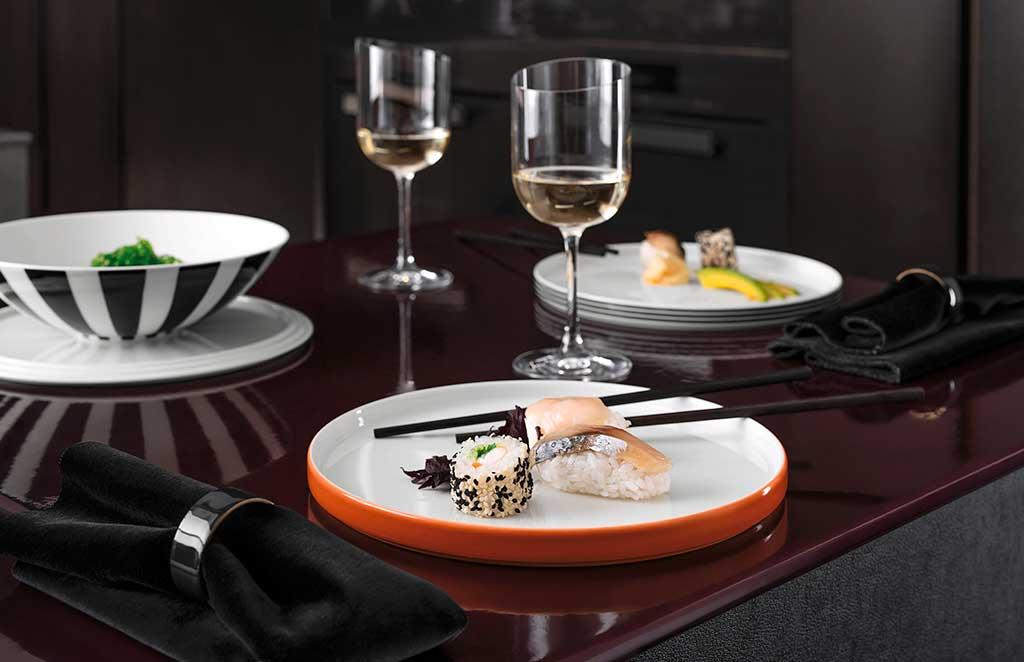tableware colorata piatti boule