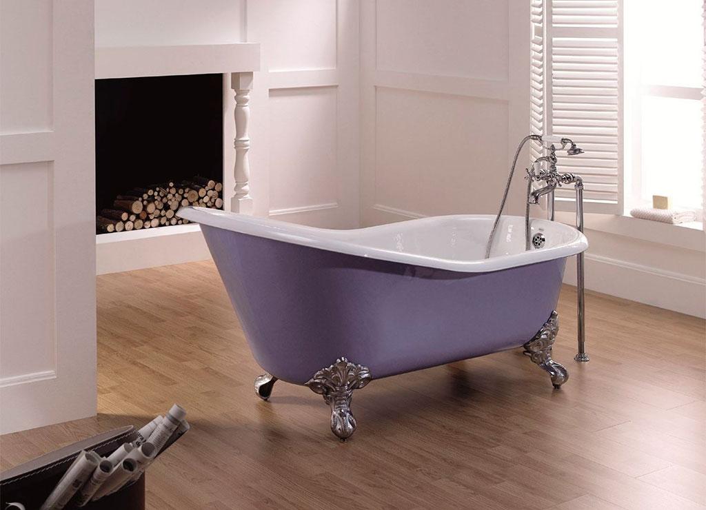 vasca bagno colore lavanda