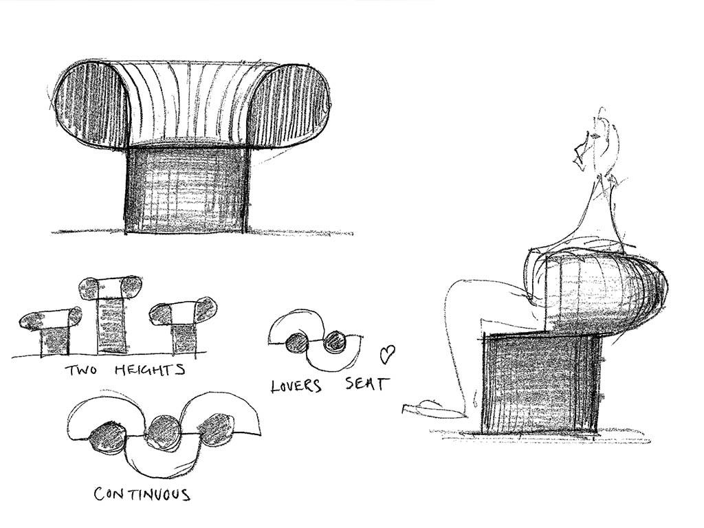 schizzi disegni knit adam goodrum
