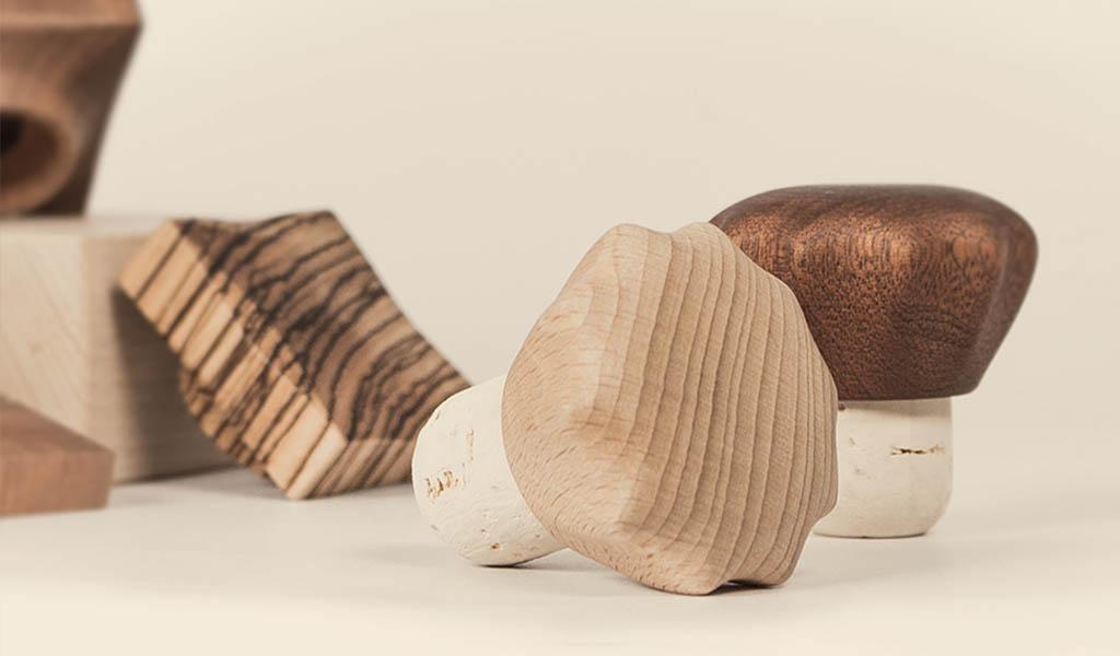 tappi legno bottiglie