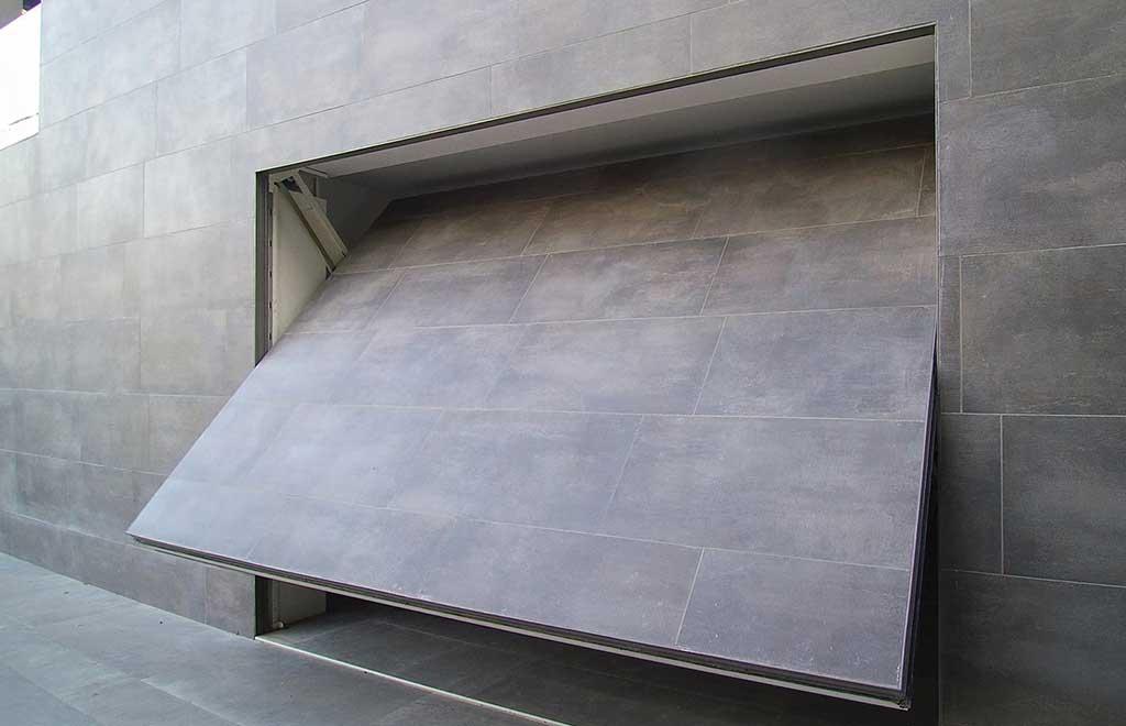 basculante raso muro aperta scuro