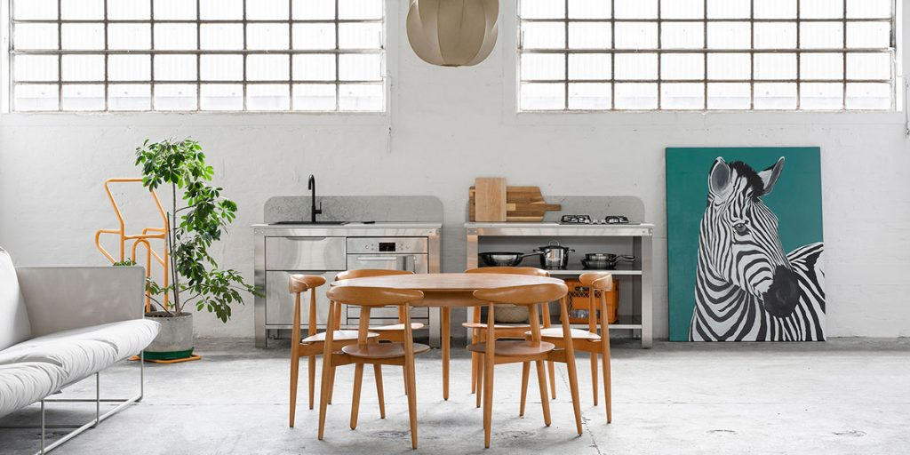 cucina freestanding inox