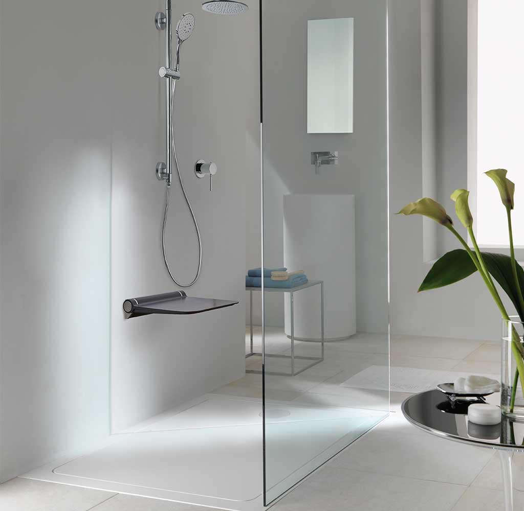 doccia sicura filo pavimento