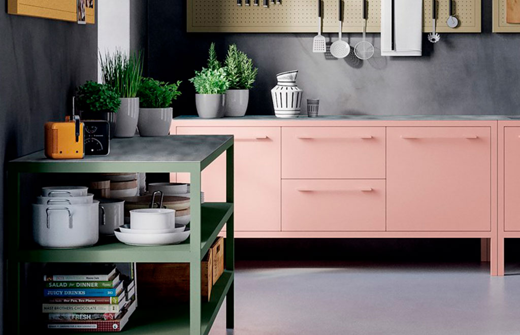 frame kitchen rosa