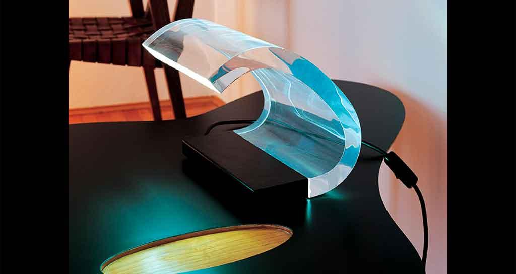 lampada acrilica