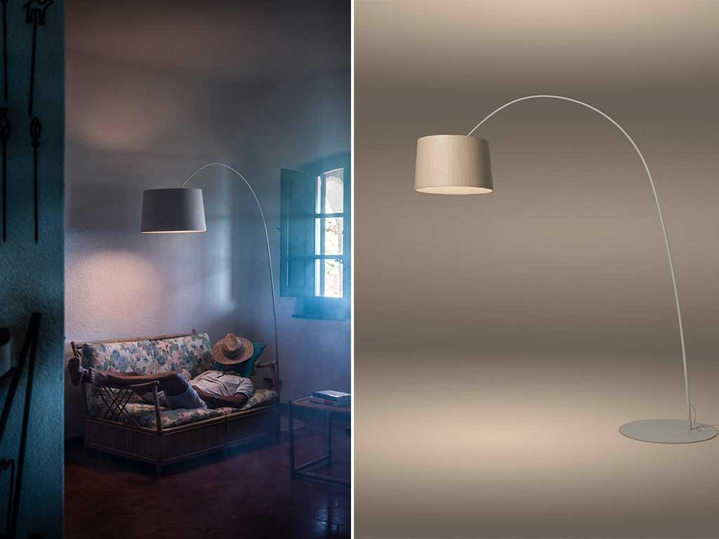 lampada da terra arco design