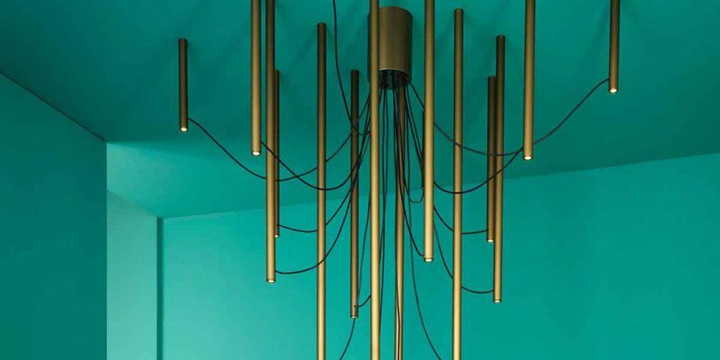 lampada multipla soffitto
