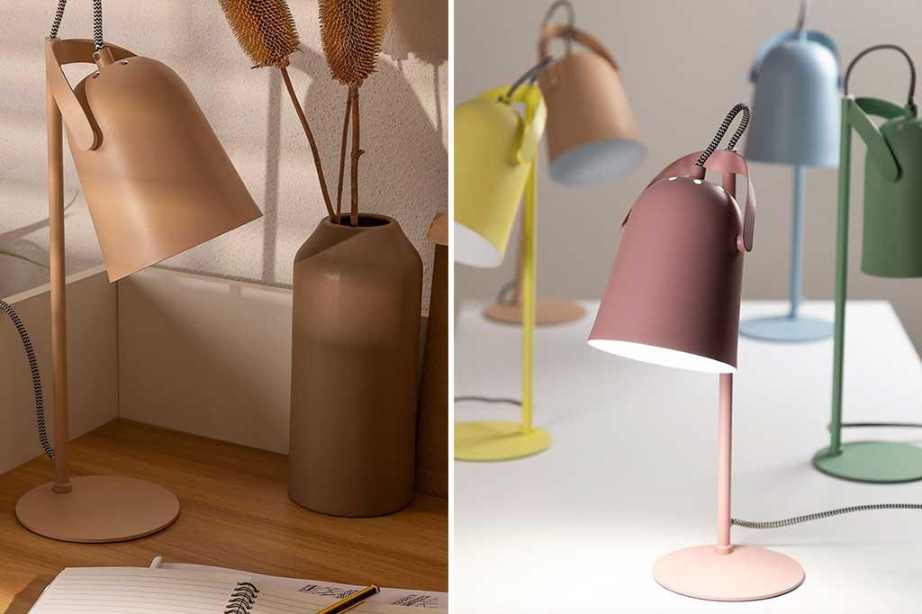 lampade da tavolo colorate