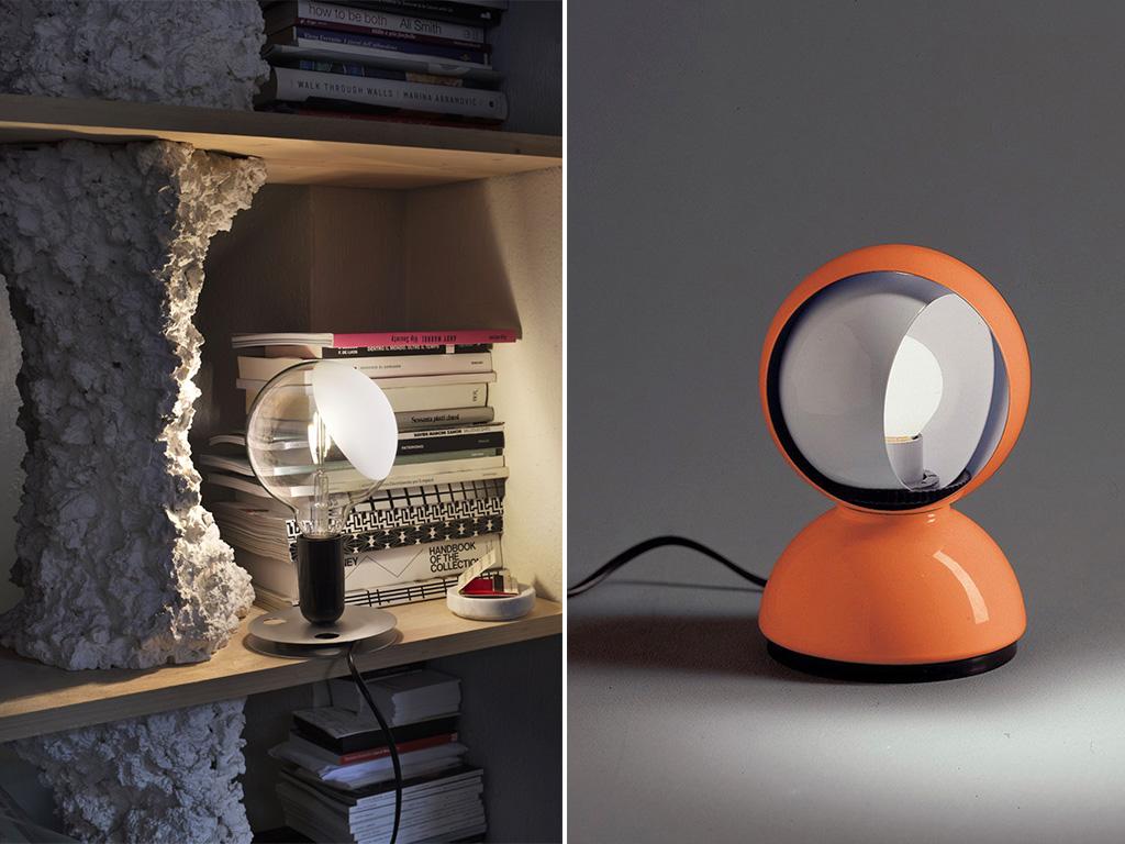 lampade design eclissi e lampadina
