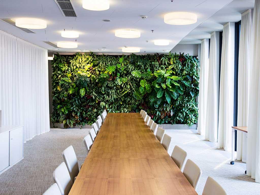 parete vegetale indoor