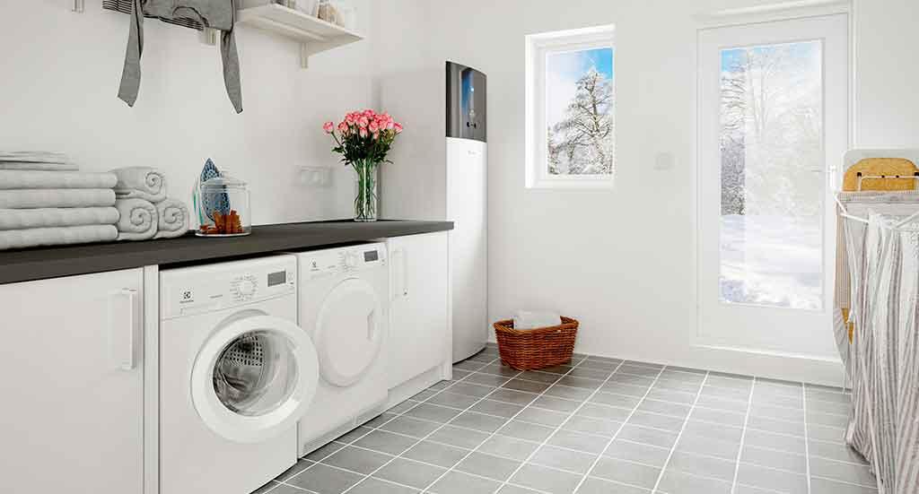 pompa di calore interno casa