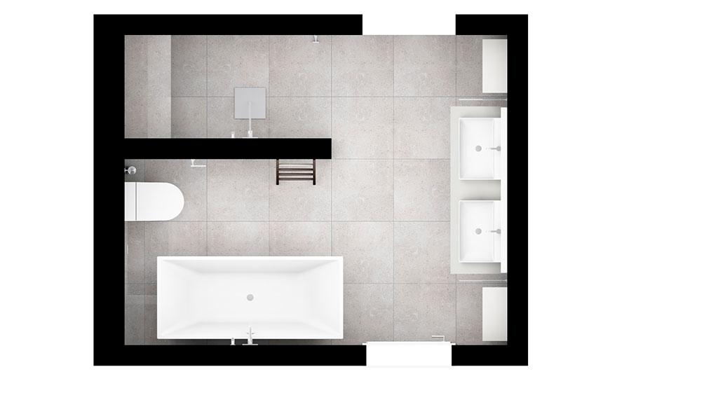 progetto nuovo bagno