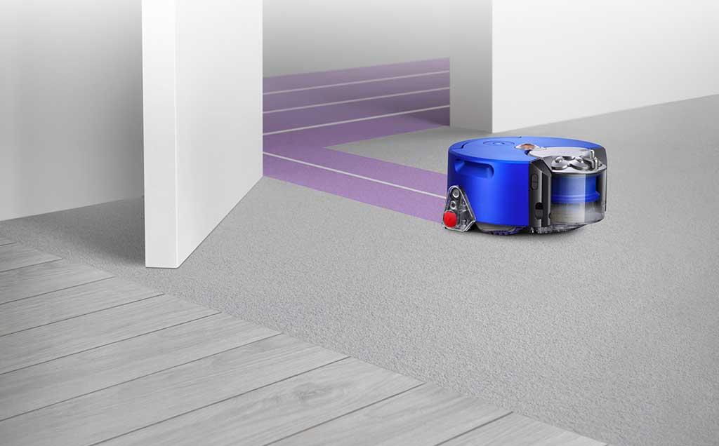 robot aspirapolvere pavimento