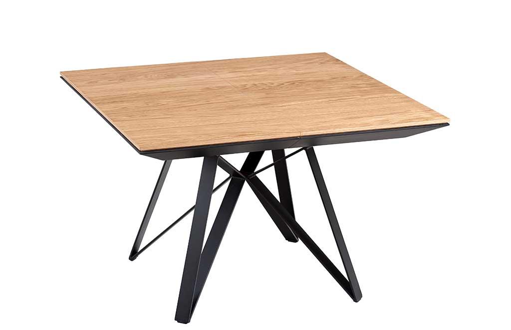tavolo legno quadrato