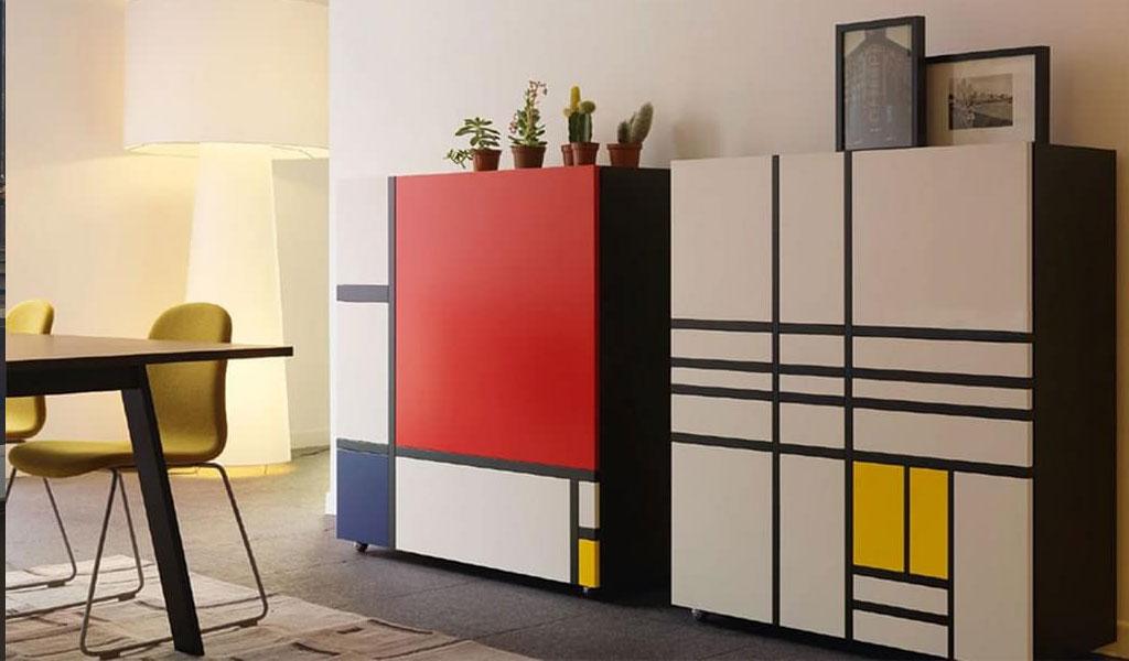 armadio design Mondrian