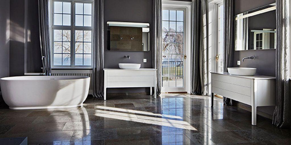 bagno con vasca centro