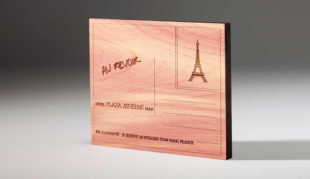 cartolina legno cedro