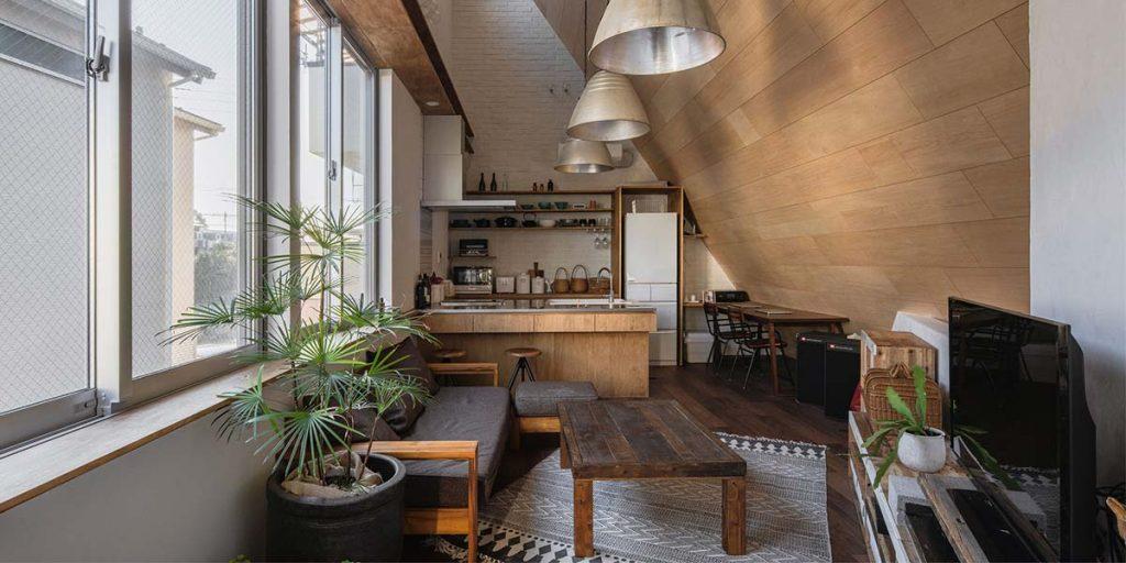 living casa atelier giapponese