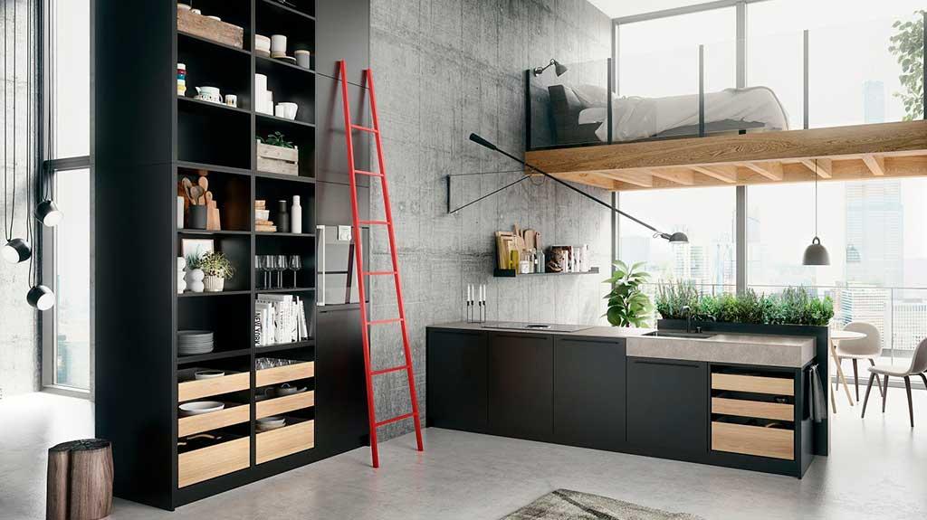 cucina a vista design
