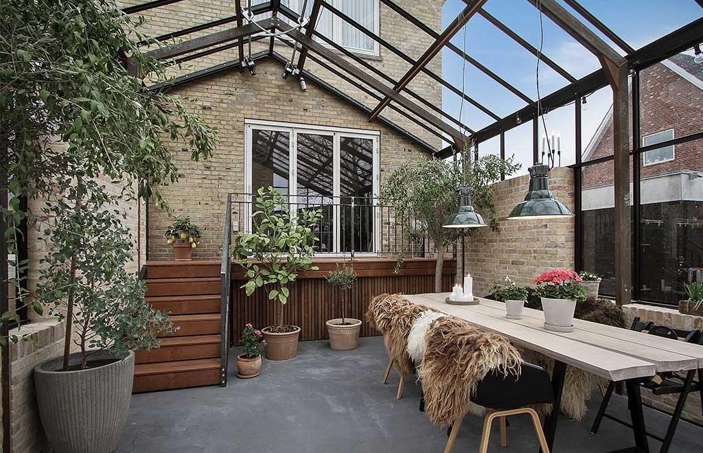 giardino inverno veranda