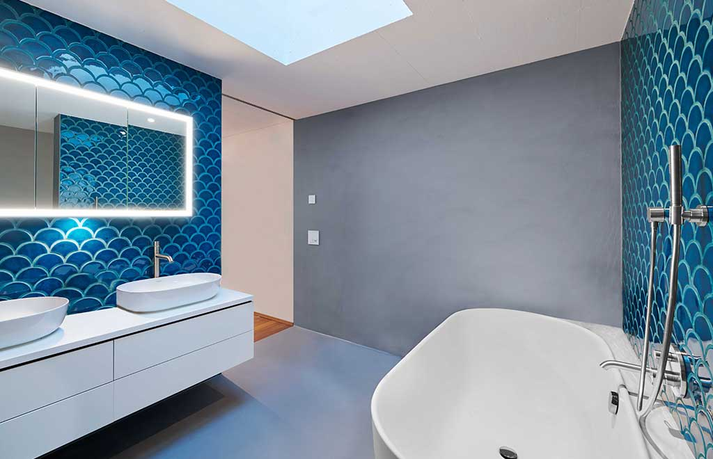 interni bagno loft