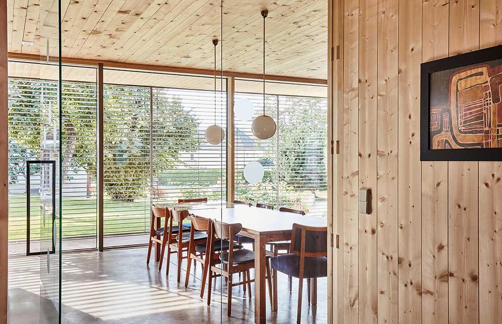soffitto legno massello casa