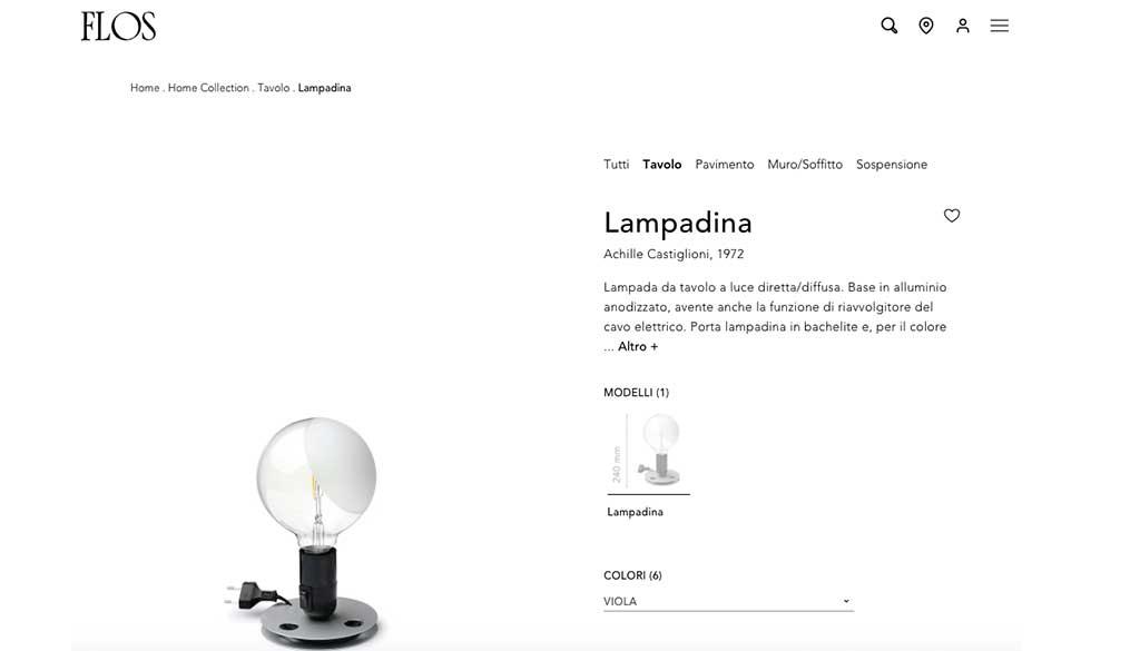 lampadina castiglioni