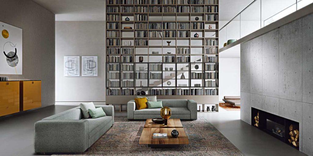 libreria per separare ambienti